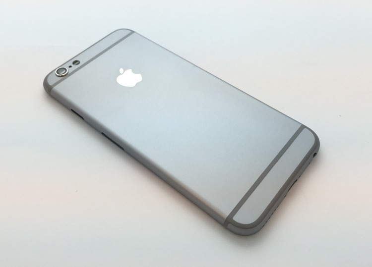 Obudowa tył do telefonu Apple iPhone 6 Space Grey