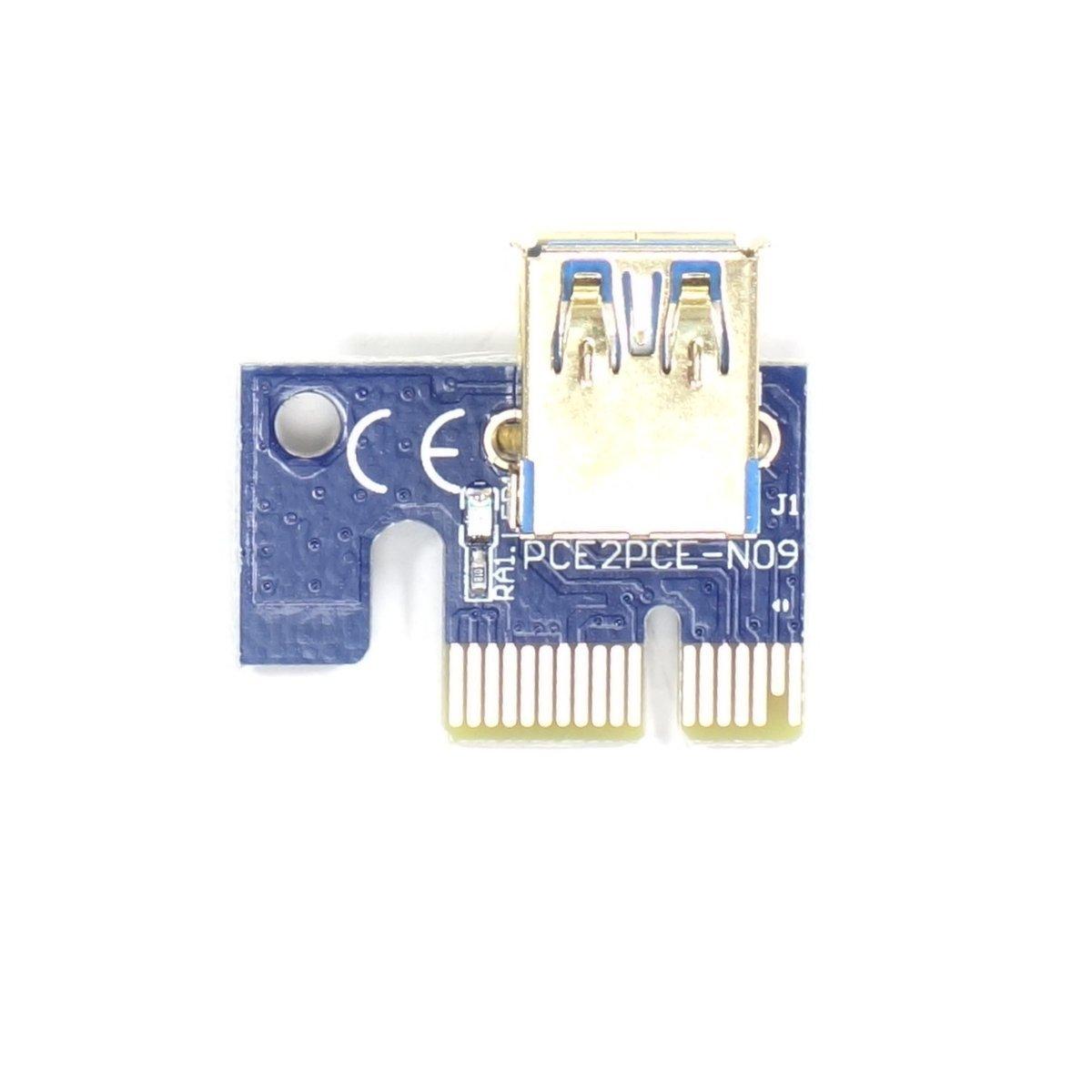Riser Pci E 1x 16x Usb 3 0 Sata 6 Pin Ver 009s Sklep Parts Store Pl