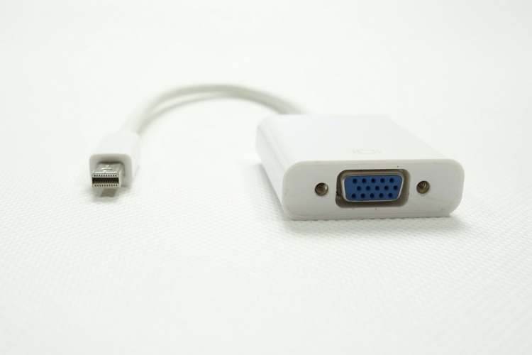 Adapter Mini DisplayPort do VGA Thunderbolt Mac