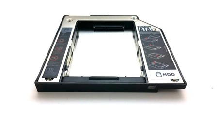 "Kieszeń do laptopa 9,5mm na drugi HDD 2,5"" IBM Thinkpad T60 T60P T61 Z60 Z61"