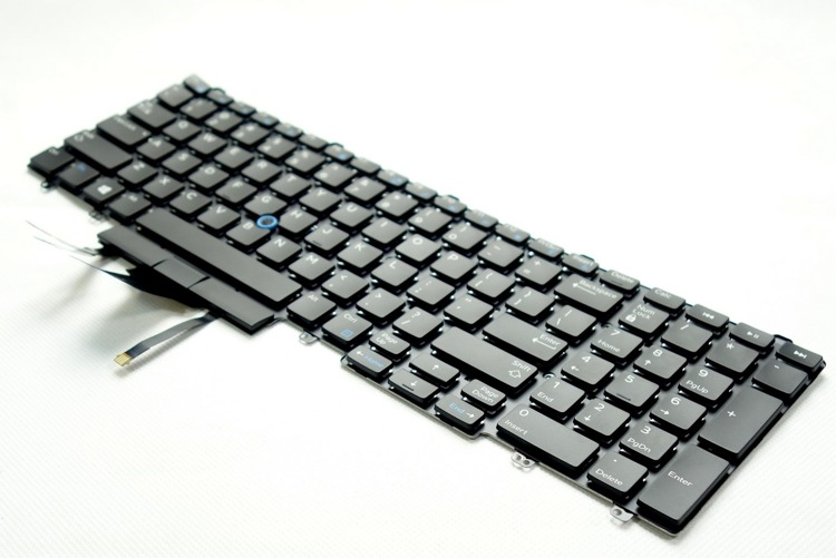 Klawiatura do laptopa Dell Latitude E5550 E5570 E5580 LED